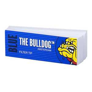 BULLDOG BLUE FILTERS TIPS 50-PACK