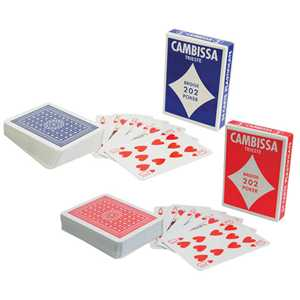 CAMBISSA PLAYING CARDS (x14)