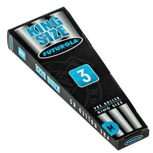 FUTUROLA PRE ROLLED KING SIZE 3PACK 109mm