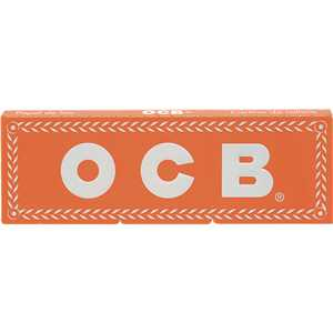 OCB ORANGE SINGLE ROLLING PAPER (X50)