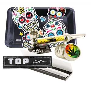SMALL TREY SET PIPE + PLASTIC GRINDER II METAL